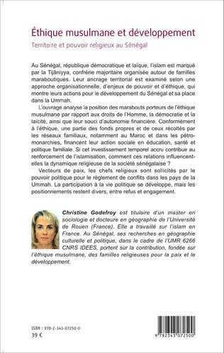 4eme Éthique musulmane et développement