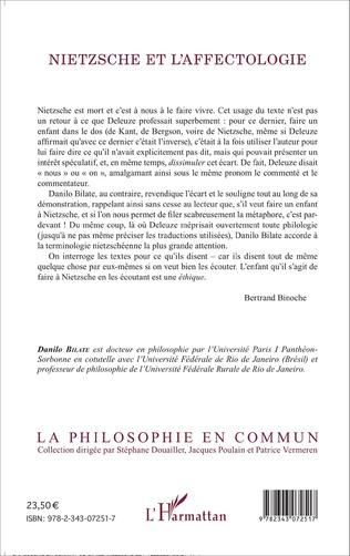 4eme Nietzsche et l'affectologie