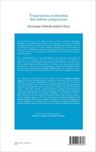 4eme Trajectoires et identités des lettres congolaises