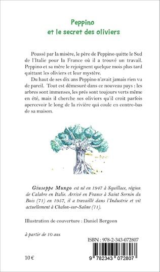 4eme Peppino et le secret des oliviers