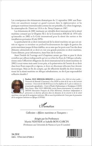 4eme Le droit international de la sûreté maritime de 2002 en Afrique subsaharienne
