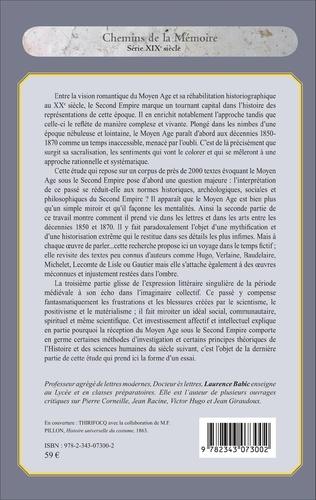 4eme L'interprétation et la représentation du Moyen Age sous le Second Empire