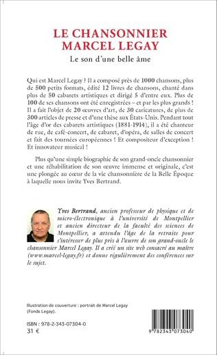 4eme Le Chansonnier Marcel Legay