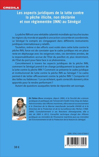 4eme Les aspects juridiques de la lutte contre la pêche illicite, non déclarée et non réglementée (INN) au Sénégal