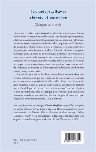 4eme Les universalismes chinois et européen