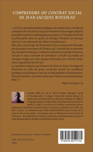 4eme Comprendre <em>Du contrat social</em> de Jean-Jacques Rousseau