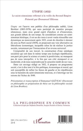 4eme Utopie (1852)