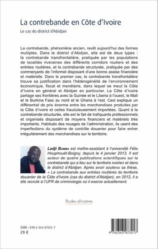 4eme La contrebande en Côte d'Ivoire