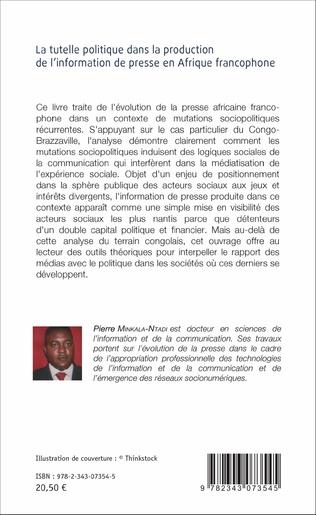 4eme La Tutelle politique dans la production de l'information de presse en Afrique francophone