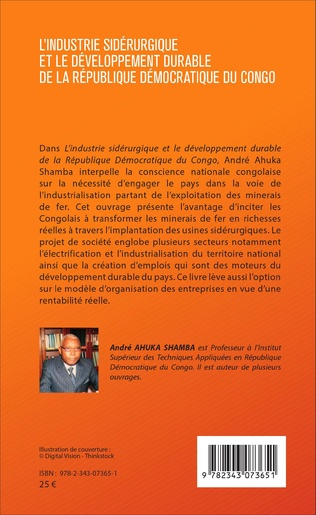 4eme Industrie sidérurgique et le développement durable de la République démocratique du Congo