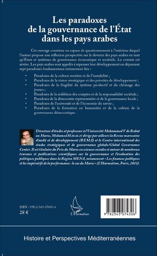 4eme Les paradoxes de la gouvernance de l'Etat dans les pays arabes