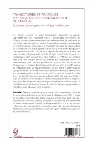 4eme Trajectoires et pratiques migratoires des Haalpulaaren du Sénégal