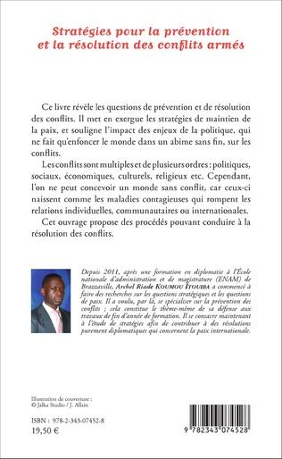 4eme Stratégies pour la prévention et la résolution des conflits armés