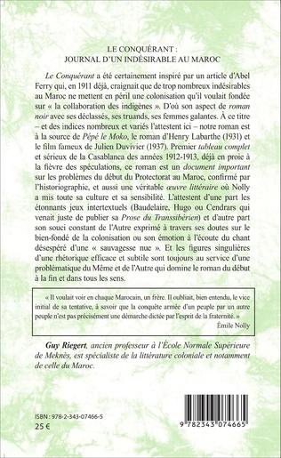 4eme Le Conquérant : journal d'un indésirable au Maroc