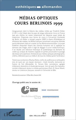 4eme Médias optiques cours Berlinois 1999