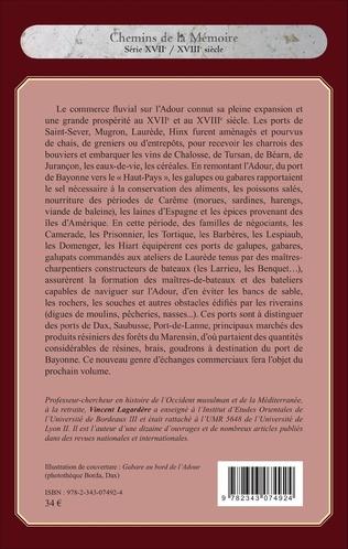 4eme Commerce fluvial sur l'Adour du XVIIe au XVIIIe siècle