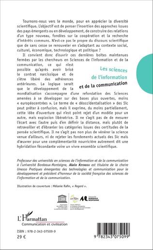 4eme Les sciences de l'information et de la communication