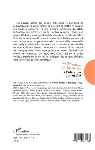 4eme De l'éducation par les médias à l'éducation aux médias