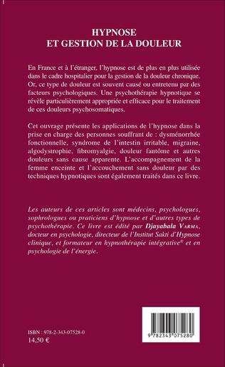 4eme Hypnose et gestion de la douleur