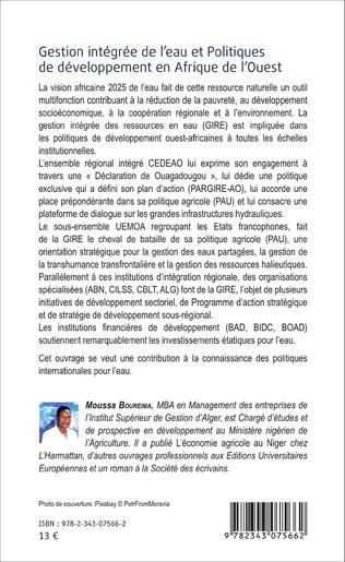 4eme Gestion intégrée de l'eau et Politiques de développement en Afrique de l'Ouest