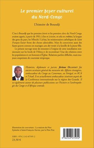 4eme Le premier foyer culturel du Nord-Congo