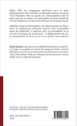4eme RAID SUR L'AFRIQUE   ROMAN