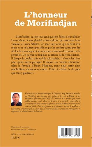 4eme L'honneur de Morifindjan