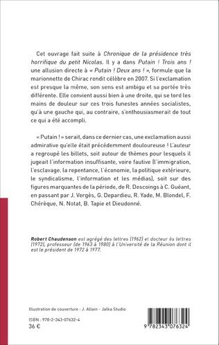 4eme Putain ! Trois ans ! (mai 2012 - mai 2015)