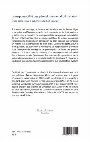 4eme La responsabilité des père et mère en droit guinéen