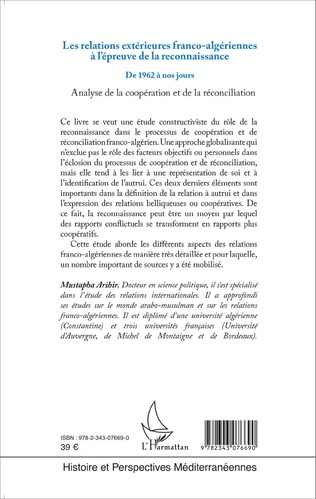 4eme Les relations extérieures franco-algériennes à l'épreuve de la reconnaissance