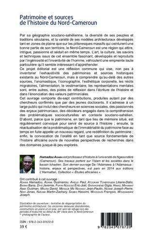 4eme Patrimoine et sources de l'histoire du Nord-Cameroun