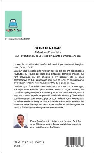 4eme 50 ans de mariage