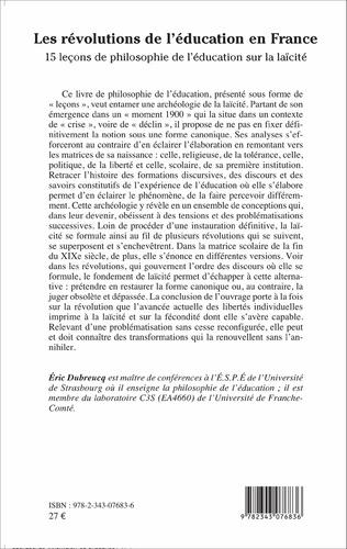4eme Les révolutions de l'éducation en France