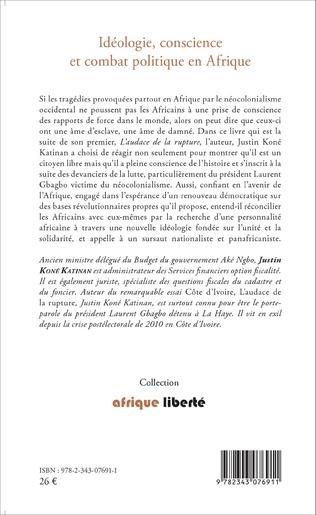 4eme Idéologie, conscience et combat politique en Afrique