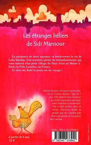 4eme Les étranges béliers de Sidi  Mansour