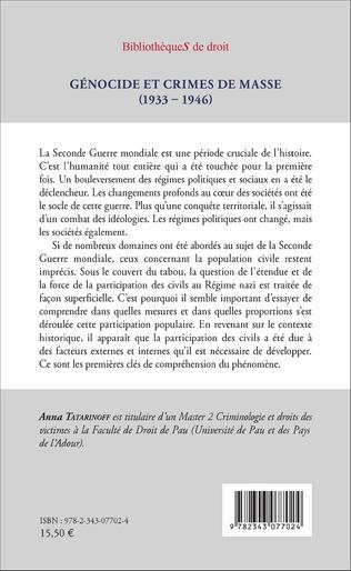 4eme Génocide et crimes de masse (1933-1946)