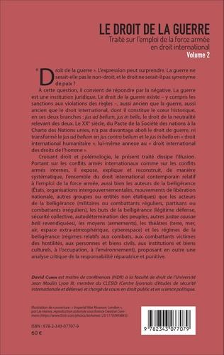 4eme Le droit de la guerre  (Volume 2)