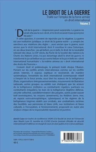 4eme Le droit de la guerre (Volume 3)