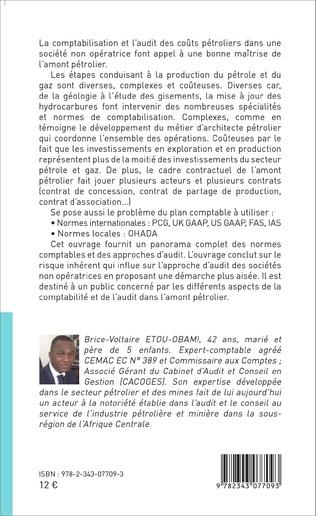 4eme Comptabilisation et audit des coûts pétroliers dans une société non opératrice