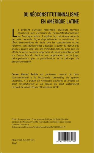 4eme Du néoconstitutionnalisme en Amérique latine