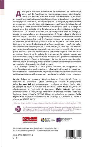 4eme Cancer et pluralisme thérapeutique