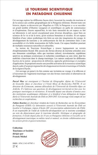 4eme Le tourisme scientifique en Patagonie Chilienne