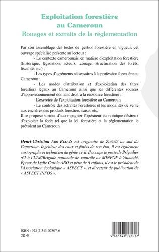 4eme Exploitation forestière au Cameroun