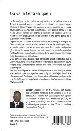 4eme Où va la Centrafrique ?