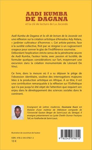 4eme Aadi Kumba de Dagana et la clé de lecture de La Joconde
