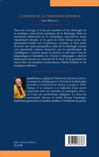 4eme Lumières de la théologie mystique