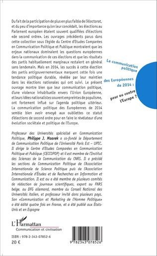 4eme La communication politique des Européennes de 2014 : pour ou contre l'Europe ?