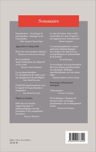 4eme Sociologie et psychanalyse