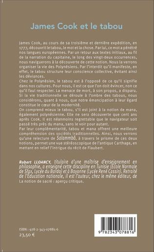 4eme James Cook et le tabou