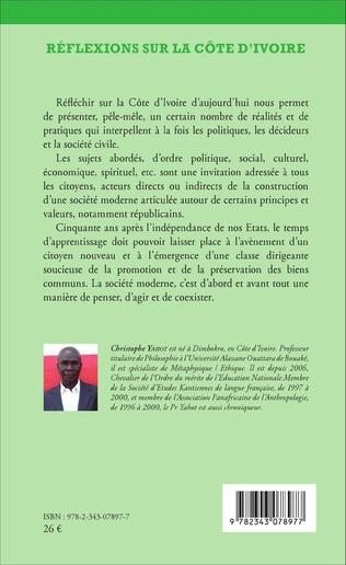 4eme Réflexions sur la Côte d'Ivoire